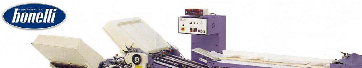 Macchine Piegatrici per legatoria