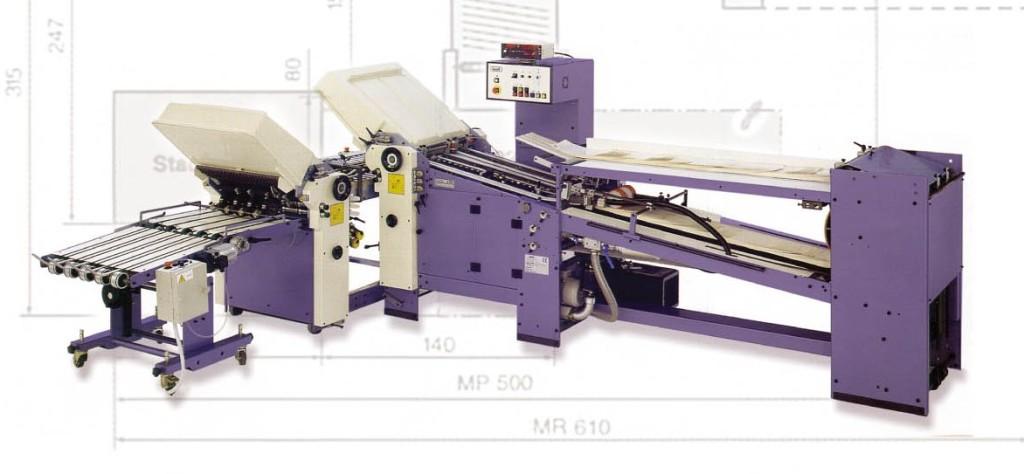 T756 mettifoglio rotary